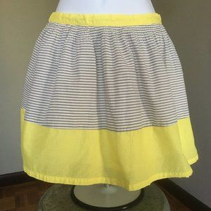 Old Navy Children L summer skirt Yellow/grey/white